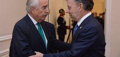 Finalizó la reunión de Santos y Pastrana - El Diario Bogotano (Comunicado de prensa) (Registro)