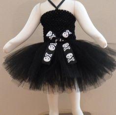Little Gothic Princess Tutu Dress and Headband Set