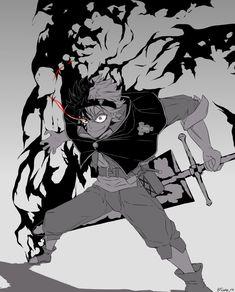 17 Super Ideas for wall paper anime black clover Manga Anime, Fanart Manga, Me Anime, Fanarts Anime, Anime Naruto, Anime Boys, Dark Anime, Neue Animes, Anime Negra