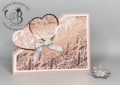 Fancy Fold Cards, Folded Cards, Stampin Pretty, Hand Stamped Cards, Valentine Day Cards, Valentines, Queen B, Anniversary Cards, Stampin Up Cards