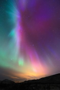 Some day I would really like to see the northern lights!