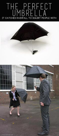 funny-umbrella-water-weapon-gadget (the perfect gift for Mycroft)