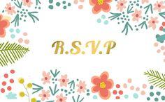 Bridal shower wedding invitation by Becceve on Etsy