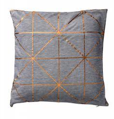 Cushion grey copper