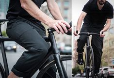 Take it to the streets with the new Folsom Urban Cycling Shorts and Pants by Chrome