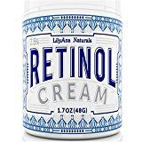 #8: Retinol Cream Moisturizer for Face and Eyes Use Day and Night  for Anti Aging Acne Wrinkles  made with Natural and Organic Ingredients  1.7 OZ