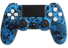 PlayStation 4 DualShock 4 Custom PS4 Controller with Blue Urban Shell | eBay #customcontroller #ps4controller #moddedcontroller #customps4controller