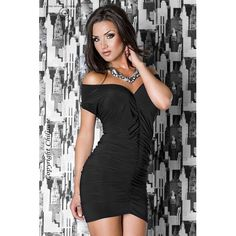 Minikleid CR3049 Cocktail-Kleid in schwarz mit großartiger Passform und einem sexy Schnitt - RW3501.