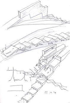 Arquitectura²: Alvaro Siza: casa en pendiente