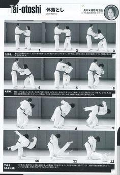 体落とし Taiotoshi Judo Training, Combat Training, Karate, Japanese Jiu Jitsu, Judo Throws, Ju Jitsu, Martial Arts Techniques, Martial Arts Workout, Kickboxing Workout