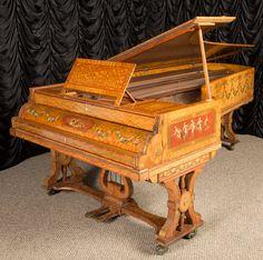 Custom Designed John Broadwood & Sons Concert Grand Piano | The Antique Piano Shop