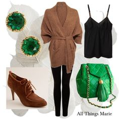 My strange and sudden obsession with emerald green clothing is only just beginning...