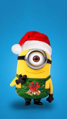 Wallpaper iPhone/cute minions/cartoons/holidays ⚪