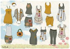 """Sotto il Girasole della Toscana"" by Mamatayoe. Set: Lola. Toscana, Clothing Patterns, Lol, Drawings, Image, Clothes, Ideas, Fashion, Fall Winter 2014"