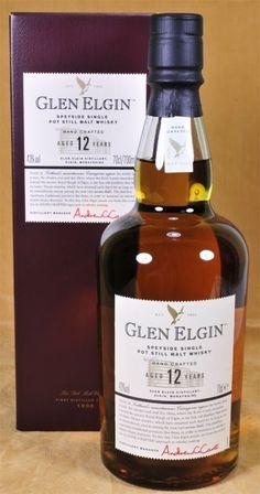 Glen Elgin 12 y. Scotch Whiskey, Irish Whiskey, Glen Elgin, Whisky Bar, Pot Still, Single Malt Whisky, Cocktails, Drinks, Bourbon