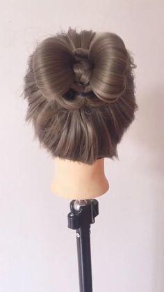Braided Hairstyles Updo, Diy Hairstyles, Wedding Hairstyles, Braided Updo, Hairstyles Videos, Redhead Hairstyles, Korean Hairstyles, Office Hairstyles, Stylish Hairstyles