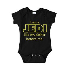 Jedi In Training Cool Gift Star Wars Cute Edgy Darth Vader Gerber Onesies