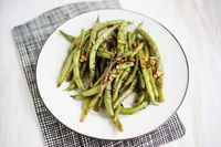 Garlic and Miso Green Beans - A Beautiful Mess