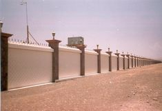 commercial boundary wall - Google Search