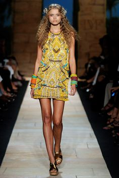 Diane von Furstenberg Spring 2010 Ready-to-Wear Fashion Show - Kendra Spears