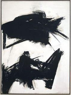 Franz Kline - Black Sienna, 1960