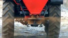 ПРН-0,8 - пескоразбрасыватель навесной на трактор
