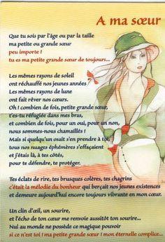 Soeurs Poems Poeme Anniversaire Soeur Sœurs Pinterest