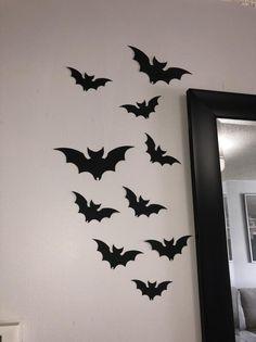 Bat cut outs Paper Bats Halloween Decor Bat Die Cuts Bat image 0 #paperbats #halloweendecor #batdecor #battheme #blackbats #halloween #autumndecor #falldecor #autumn #halloweenideas #halloweendecorations #batdecorations