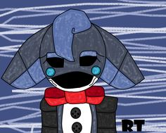 Blue The Bunny {For: @FNAFISLIFE} ((Made By: MagicalCreativity💫))