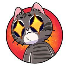 Cat Stickers, Cellphone Wallpaper, Cats And Kittens, Kitty, Gatos, Little Kitty, Kitten, Cell Phone Wallpapers, Phone Wallpapers