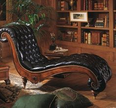 ARISTOCRAT CHAISE...Henredon Upholstery    Perfect for lounging in with cup of tea and a good book.  Agatha Christie maybe? :)
