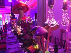 5ft 3D Toadstool, Alice in Wonderland Party Theme | Props, Ideas, Decorations & Supplies