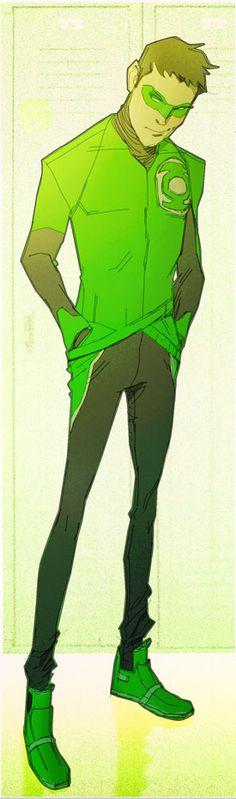 Little League..Hal Jordan by CoranKizerStone.deviantart.com on @deviantART