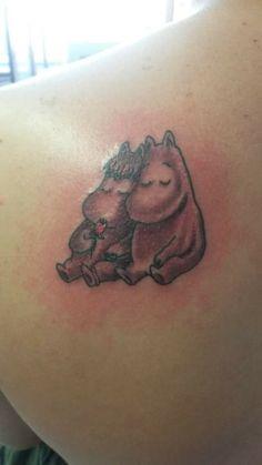Moomin tattoo - not hippo!?!