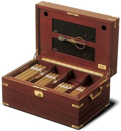 A good cigar is one of life's simple pleasures. Keep your simple fresh with a nice humidor.