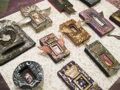from Amanda Hawkins - amulets made by student in Laurie Mika workshop - art unraveled day 1   Flickr - Photo Sharing!