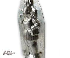 Anton Reiche Antique Chocolate Mold Mould Moule Schokoladenform Lady Rabbit