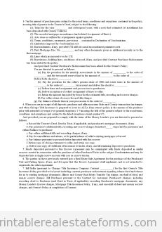 Sample Printable Landowner Cooperative Agreement Form  Sample