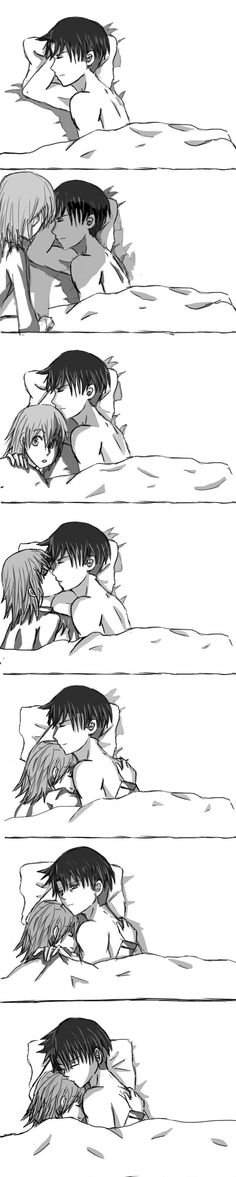 Levi and Petra: Bedtime by AshesNewMoon.deviantart.com on @deviantART