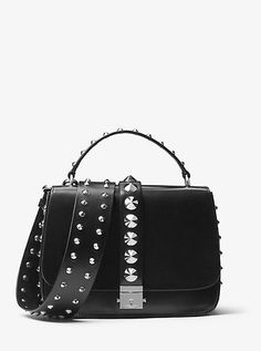 41a4460afb Main Street Handbags · Mia Studded French Calf Shoulder Satchel  https   tmblr.co ZVsosc2PcAurV Michael