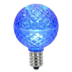 25 LED G50 Bulbs by Gordon Companies, Inc. $114.00. Picture may wrongfully represent. Please read title and description thoroughly.. Please refer to SKU# ATR25775062 when you inquire.. This product may be prohibited inbound shipment to your destination.. Brand Name: Gordon Companies, Inc Mfg#: 30711656. Shipping Weight: 2.00 lbs. 25 LED G50 Bulbs/Bulb color: blue/Bulb size: G50 (approx. 2'' diameter)/Faceted bulbs/E17 nickel base - fits into a standard C9 light socket/Screw-i...
