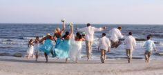 Brides maids dress color