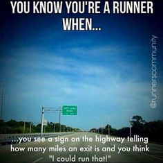 10 Mile Runners over here, Folks