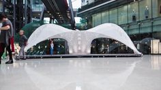 VULCAN pavilion, the current largest 3D printed structure in the Guinness World record.
