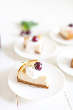 Vegan Cherry Cheesecake