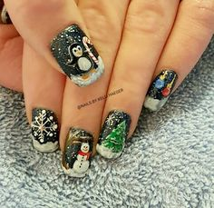 Winter and Christmas Nails