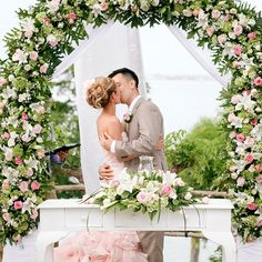 A first kiss and a happily ever after at Four Seasons Resort Bali in Jimbaran Bay.