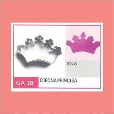 Categoría: Cortantes Metalicos Galletas - Producto: Cortante Metal Corona De Princesa - Ga28 - Envase: Unidad - Presentación: X Unid. - Marca: Flogus