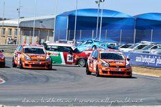 Our Chevrolet Cruze in a little action at Zwartkops raceway in Pretoria.