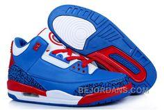 Buy Spain Jordan Captain America 2014 Nike New Jordan 3 Iii Retro Mens  Shoes from Reliable Spain Jordan Captain America 2014 Nike New Jordan 3 Iii  Retro ...